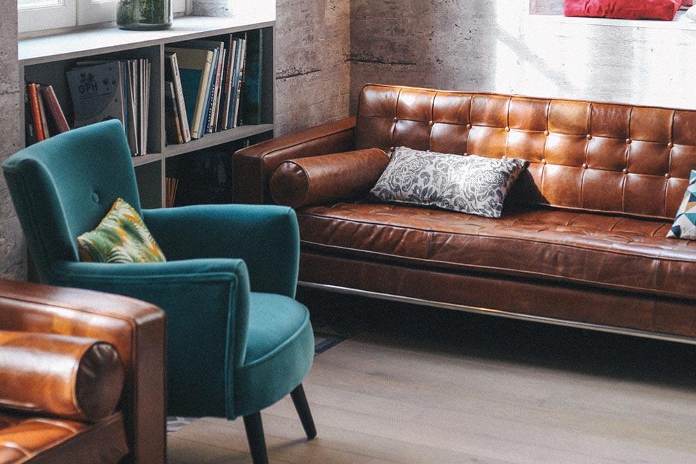 Le lounge du meetropolitan espace de coworking à bordeaux centre