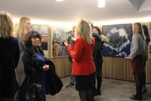 vernissage femmes en lumière au Meetropolitan, espace de coworking bordeaux centre
