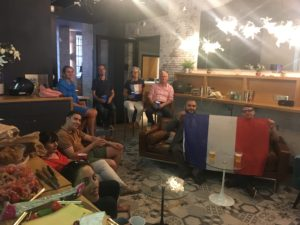 la coupe du monde au meetropolitan, espace de coworking à bordeaux