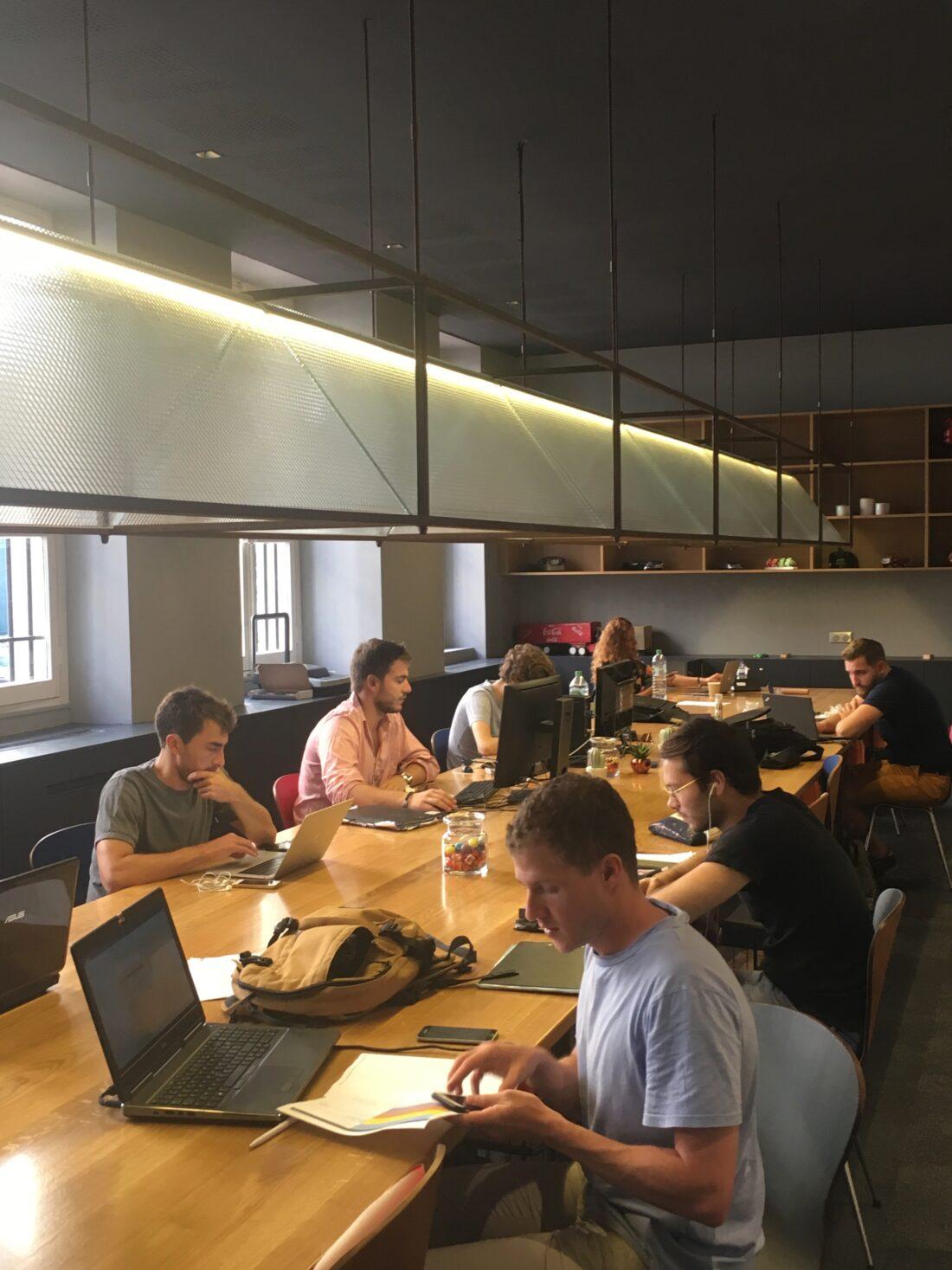 le Flex lab, espace de coworking du Meetropolitan